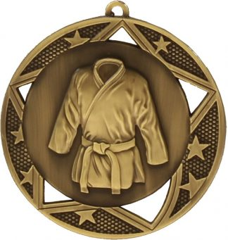 Martial Arts Medal MQ923G 70mm