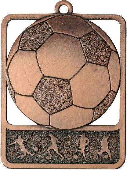 Soccer Medal MR904B 61mm