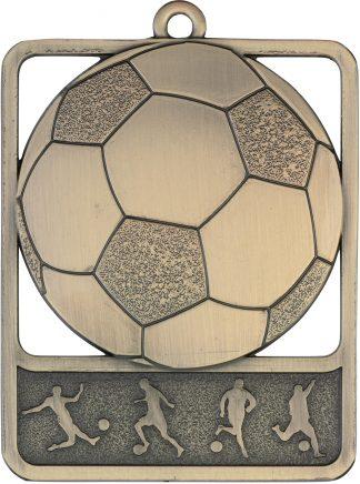 Soccer Medal MR904G 61mm