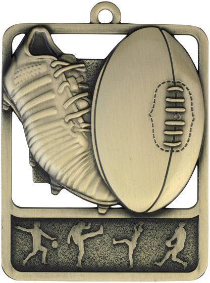 Australian Rules (AFL) Medal MR912G 61mm