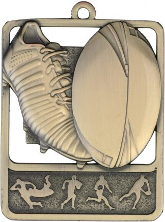 Rugby Medal MR913G 61mm